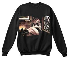 The Boss Black Sweatshirt Front