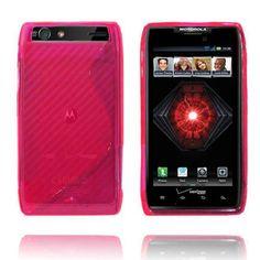 Transparent S-Line (Rosa) Motorola Droid RAZR Maxx Deksel