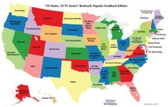 TV Shows from each state
