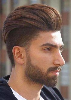 Pompadour Hairstyle for Men Popular Short Haircuts, Cool Haircuts, Haircuts For Men, Mens Hairstyles Pompadour, Undercut Pompadour, Latest Mens Fashion, Men's Fashion, Short Hair Cuts, Short Hair Styles