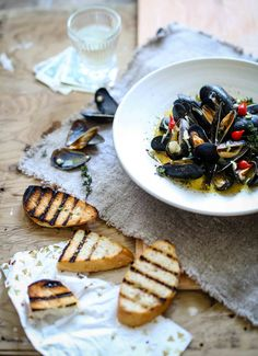 ... + images about sea food on Pinterest | Mussels, Salmon and Calamari