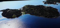 Aerial views of Oak Island Oak Island Mystery, Oak Island Nova Scotia, Places Around The World, Around The Worlds, Natural Phenomena, Small Island, Aerial View, Places To See, Canada