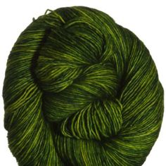Madelinetosh Tosh Merino Light Yarn - Jade for my brickless.