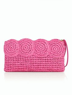 Talbots - Crochet Paper Straw Clutch | | Discover your new look at Talbots. Shop our Crochet Paper Straw Clutch for stylish clothing and accessories with a modern twist at Talbots