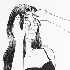 big girls don't cry 다 컸으니 울지말자 . . . #tears#faucet#crying#눈물