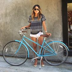 Thanks, @sincerelyjules for stopping by and picking up your new Sky Blue Mixte! Hope you love it!