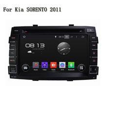 HD 7 Inch 2 Din 4 Core Android 5.1.1 Stereo Radio Multimedia Headunit 4G WiFi Car DVD Player GPS Navi For Kia SORENTO 2011