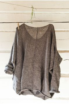 Sheer light mohair sweater