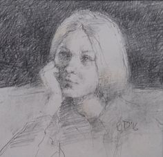 In thought by Brian Denington  Copyright remains with the artist  #briandenington #francisilesgallery