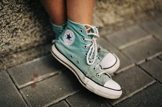 Turquoise converse!