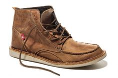 TORIA Rustic Brown Pullup. $135. By Oliberte, the first fair trade certified shoe manufacturing company