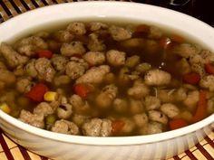 Recept: Játrové knedlíčky do polévek Bread Dumplings Recipes, Dumpling Recipe, Chana Masala, Beans, Food And Drink, Soup, Vegetables, Cooking, Ethnic Recipes