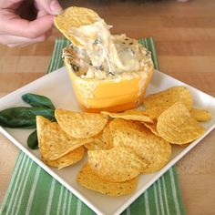 Cheesy Spinach Artichoke Dip Recipe