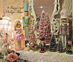 Penny's Vintage Home: Christmas Mantle.....2014