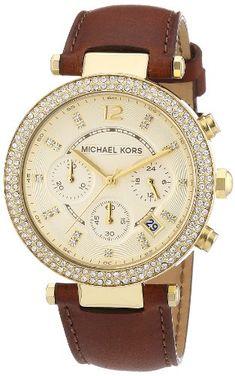 Michael Kors Ladies Gold Tone Chronograph Watch Michael Kors http://www.amazon.com/dp/B0076SYGZE/ref=cm_sw_r_pi_dp_Ewbzub1YB3JZM