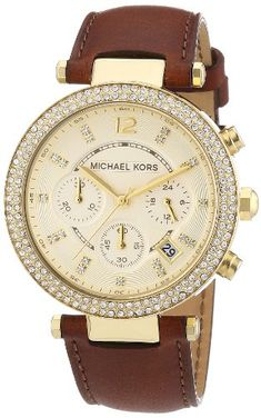 Michael Kors Ladies Gold Tone Chronograph Watch Michael Kors http://www.amazon.com/dp/B0076SYGZE/ref=cm_sw_r_pi_dp_Ewbzub1YB3JZM