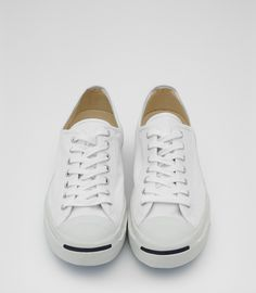 db8a98140cf Mens White Jack Purcell Trainers - Reiss Jack Purcell Canvas Baskets  Végétaliennes