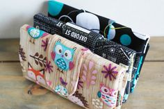 Womens Tri-fold Cash Wallet Sewing Pattern by SusieDDesigns