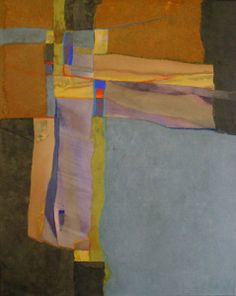 Collage, 24 x 30 by Lesli Pepper