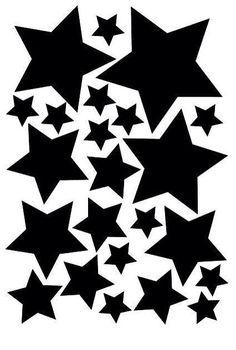 De sterren muurstickers zitten in vier verschillende maten op een stickervel in A5 formaat. In totaal zitten er 23 sterren op een vel. Ze zijn gemaakt van een matte stickerfolie van zware kwaliteit. De stickers zijn makkelijk verwijderbaar en opnieuw te gebruiken. Zowel binnen als buiten toepasbaar. Verkrijgbaar in de kleuren zwart, wit, mintgroen, roze, fuchsia roze, blauw, marine blauw en glanz