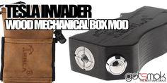 Tesla Invader (Wood Box Mod) $26.12 | GOTSMOK.COM