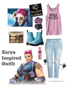 Overwatch Zarya Inspired Outfit