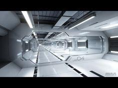 Spaceship Interior, Futuristic Interior, Spaceship Design, Futuristic Architecture, Interior Architecture, Sci Fi Environment, Sci Fi Models, Futuristic Technology, Technology Gadgets