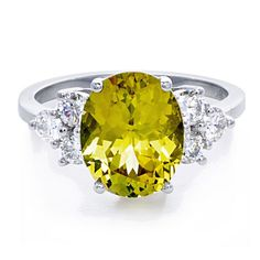 greenwich ceremony chrysoberyl and diamond engagement ring