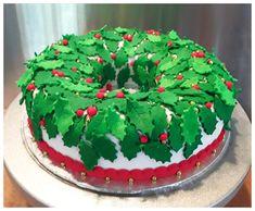 Holly Fruit cake
