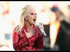 Lady Gaga Sings National Anthem at Super Bowl 50 - YouTube