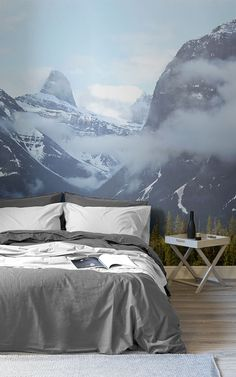 These nature landscape wallpapers are perfect for creating a nature inspired bedroom, that will have you in a complete mode of zen. Feel the serene aura of mountain air flow into your space, when you install one of these magnificent murals as an accent wall in your bedroom. Style with simple, but bold furniture and cute accessories for the perfect look.