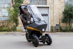 BICAR : Light electric tricycle emission-free vehicle - ev News Topic Electric Tricycle, Electric Scooter, Electric Motor, Electric Cars, Electric Vehicle, Scooter Bmw, Bmw C1, E Mobility, Trolley Bags