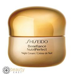 Shiseido Benefiance NutriPerfect Night Cream oz-A high-performance nighttime recovery cream created especially for mature skin experiencing wrinkles, discolorations, and loss of resilience associated with the hormonal changes due to aging- Sephora, Face Care, Skin Care, Facial, Hormonal Changes, Shiseido, Skin Firming, Artisanal, Moisturizer