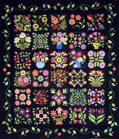 Everything's Blooming by E Kaprow - Patternspot.com  I love her patterns!