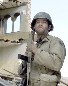 Tom Hanks in Saving Private Ryan - Not many have done it as well as he has, for as long as he has and with such diversity of roles.  That's why he earns a spot on my Par Excellence board.