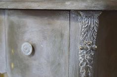 Gorgeous project by Jonathon Marc Mendes-Painted Love using the White Chalk Paint® Wax by Annie Sloan | Faded Grandeur How-to Video