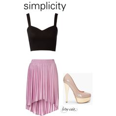 simple. sorry i'm in love with long skirts and crop tops