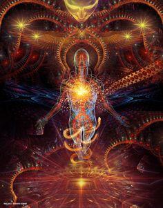 Mystery Of The Aeon DMT-Dream Matrix Transportation: by Shaman-E Psychedelic Art, Bonheur Simple, Esoteric Art, Psy Art, Mystique, Visionary Art, Sacred Art, Fractal Art, Sacred Geometry