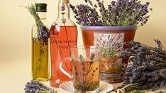 Poklady z levandule Lavander, Korn, Planter Pots, Detox, Herbs, Homemade, Tableware, Health, Syrup
