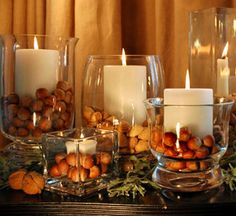 Fall Decorations For Dinner Party Centerpiece