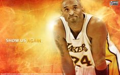 Last for today - new wallpaper of Kobe Bryant made as support for his recovering from injury... Full size available at - http://www.basketwallpapers.com/USA/Kobe-Bryant/