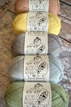 New Vovó shades have just been added to the shop. We are thinking stripes, fair isle, mosaic... the possibilities are endless! Pastel Colors, Colours, Needles Sizes, Crotchet, Knitting Yarn, Tangled, Yarns, Sheep, Fun Facts