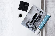 Minimal interior & marble // noanoir.com