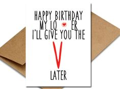 Funny For Him Birthday Card Sexy I'll give you by diamondgates23, $4.68