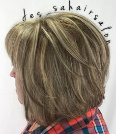Layered+Bronde+Bob+For+Women+Over+50