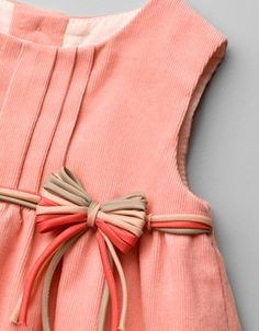 needle-chort pinafore dress with flower applique - Dresses - Baby girl (3-36 months) - Kids - ZARA United States - inspiration