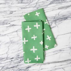 cross napkins | a sunny afternoon co.