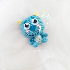 sulleyˋ﹏ˊ❤ #sulley#monsterincthailand #monsterinc#amigurumi#crochet#handmade#yarn #doll#crochetoninstagram #crocheting #crochetart #cute#amigurumilove