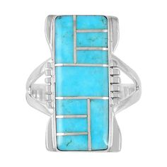 925 Sterling Silver Ring with Genuine Turquoise Size 5 to 13 * You can get additional details at the image link. (This is an affiliate link) #Rings