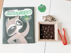 A Kids' Indie Next List pick! Laugh-out-loud humor and a tender friendship blossom in author-illustrator Monica Arnaldo's charming picture book about a lonely raccoon and a glowing seed, and the world's most important question: Can this seed grow cheeseburgers? 📸 @story.baskets